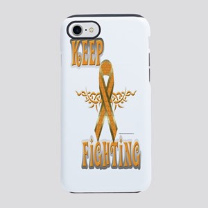 Keep Fighting Kidney Cancer iPhone 7 Tough Case