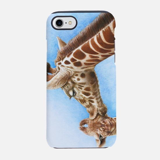 Giraffe and Calf iPhone 7 Tough Case