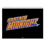 Captain Midnight 2018 12-Month Wall Calendar