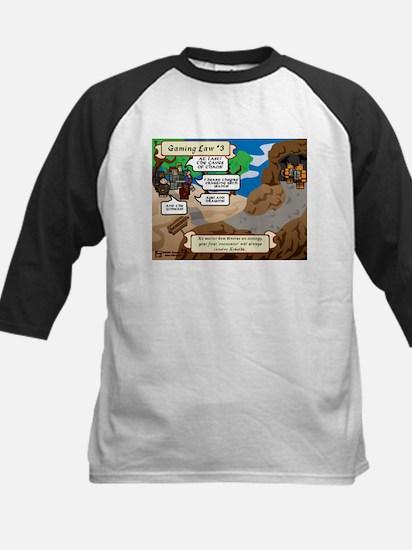 Gaming Law #3 Comic Kids Baseball Jersey