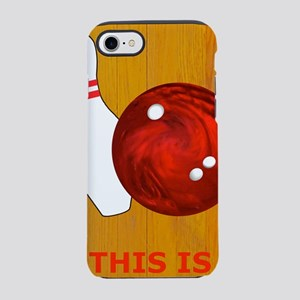 Bowling Theme Itouch2 Itouch4  iPhone 7 Tough Case