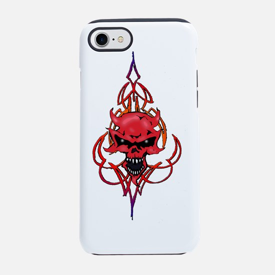 demon stripes iPhone 7 Tough Case