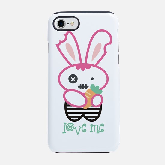 Love Me, Gothic Bunny T-Shirt iPhone 7 Tough Case