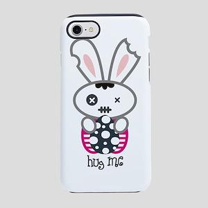 Hug Me, Gothic Bunny T-Shirt iPhone 7 Tough Case