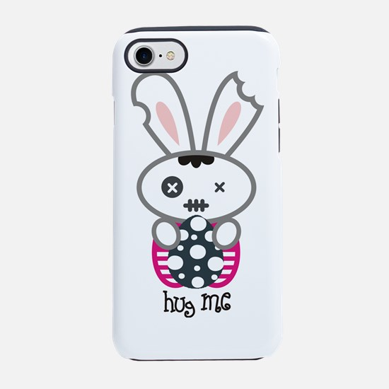 Hug Me, Gothic Bunny T-Shirt iPhone 7 Tough Case