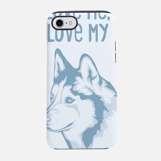 Siberian HuskyI.png iPhone 7 Tough Case