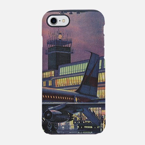 Vintage Airport iPhone 7 Tough Case