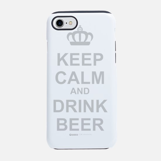 carry on DRINK BEER.png iPhone 7 Tough Case