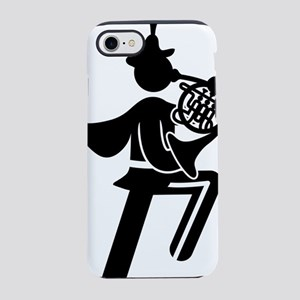 Marching-Band---French-Horn-AA iPhone 7 Tough Case
