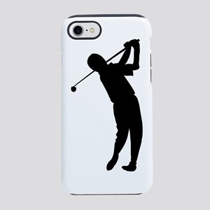 golfer outline 6 iPhone 7 Tough Case