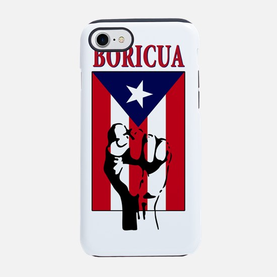 Boricua.png iPhone 7 Tough Case