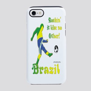 Rockinit_Brazil_Bottle iPhone 7 Tough Case