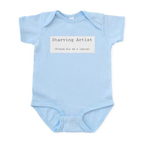 Starving Artist Infant Creeper