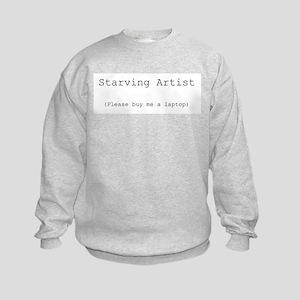Starving Artist Kids Sweatshirt