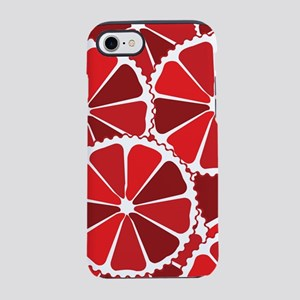 Grapefruit slices iPhone 7 Tough Case