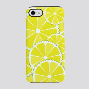 Lemon slices iPhone 7 Tough Case
