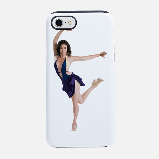 dance11_wht.png iPhone 7 Tough Case
