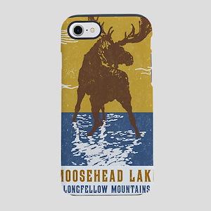 Moosehead Lake Maine Moose iPhone 7 Tough Case