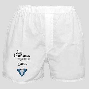 Real Gentlemen are born in June Cud52 Boxer Shorts
