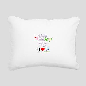 Call Me Irresistible Rectangular Canvas Pillow