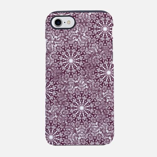 Purple Lace iPhone 7 Tough Case