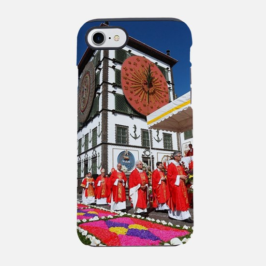 Santo Cristo festival iPhone 7 Tough Case