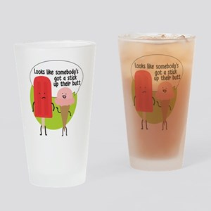 Popsicle Stick Drinking Glass