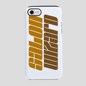salon wizard brown iPhone 7 Tough Case