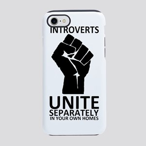 Introverts Unite Separately in iPhone 7 Tough Case