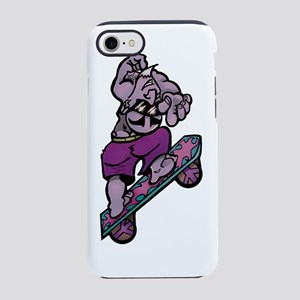 Night-skateboarder iPhone 7 Tough Case