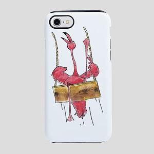 Swinging Flamingo iPhone 7 Tough Case