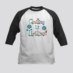 Quilling Kids Baseball Jersey