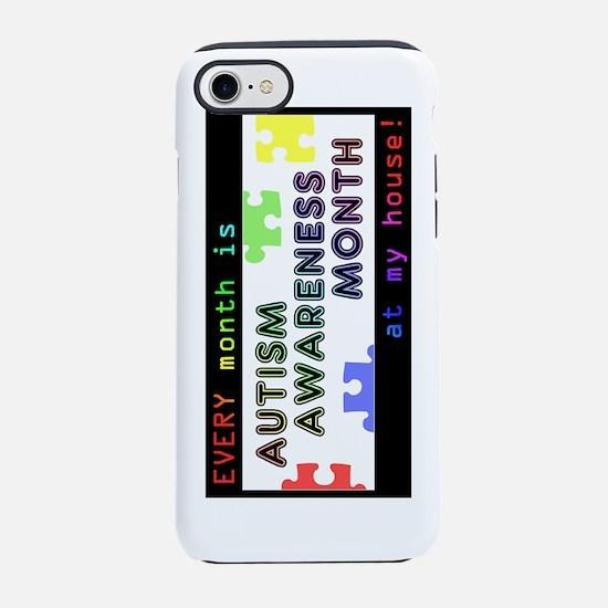 everymonthautismawareness-rota iPhone 7 Tough Case