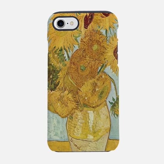 Vincent van Gogh's Sunflowers iPhone 7 Tough Case
