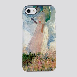 Claude Monet S Woman With A Pa Iphone 7 Tough Case
