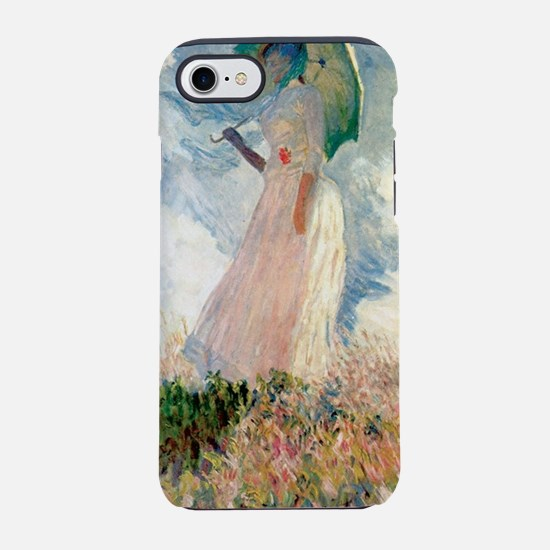 Claude Monet's Woman with a Pa iPhone 7 Tough Case