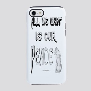 Wolf Peace iPhone 7 Tough Case