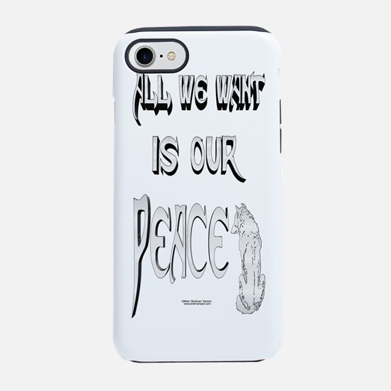 Wolf Peace iPhone 7 Tough Case
