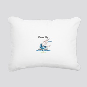 Dream Big Rectangular Canvas Pillow