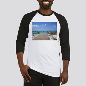 Caribbean boardwalk Baseball Jersey