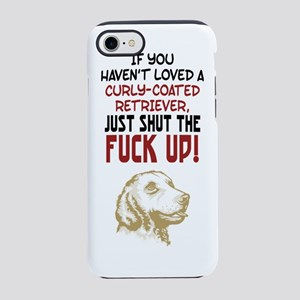 Curly-Coated RetrieverF.png iPhone 7 Tough Case