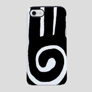 hopi-hand-spiral-tribal iPhone 7 Tough Case