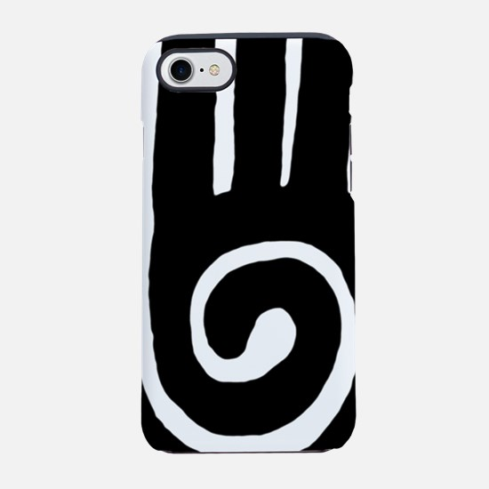 hopi-hand-spiral-tribal.png iPhone 7 Tough Case