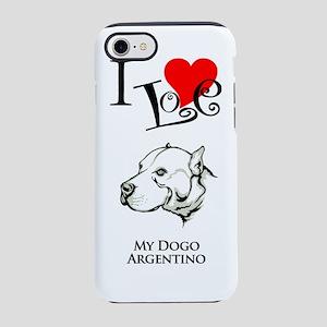 Dogo ArgentinoK iPhone 7 Tough Case