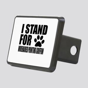 I Stand For Wirehaired Poi Rectangular Hitch Cover