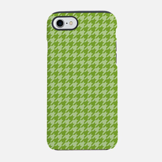 441_houndstooth_green.jpg iPhone 7 Tough Case
