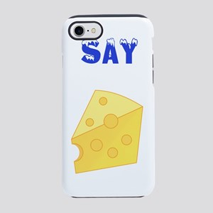 Eat cheese iPhone 7 Tough Case