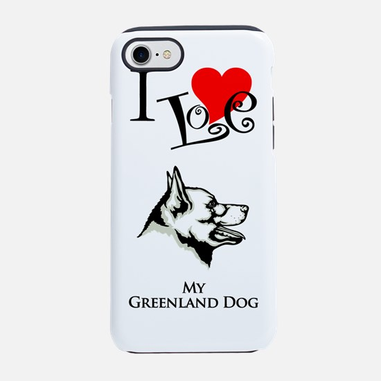 Greenland DogK.png iPhone 7 Tough Case