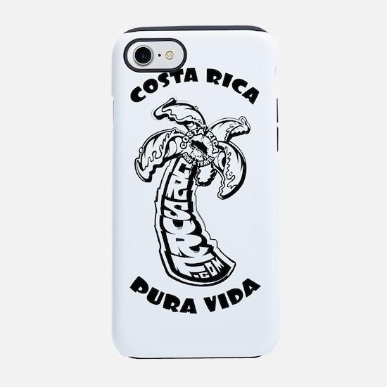 Costa Rica Surf  - CRsurf logo iPhone 7 Tough Case