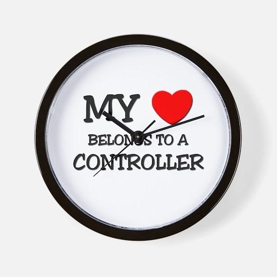 My Heart Belongs To A CONTROLLER Wall Clock